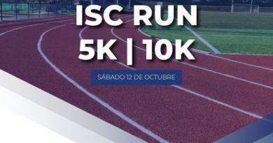 Nueva fecha 5k-10k IC College, 19 de octubre.